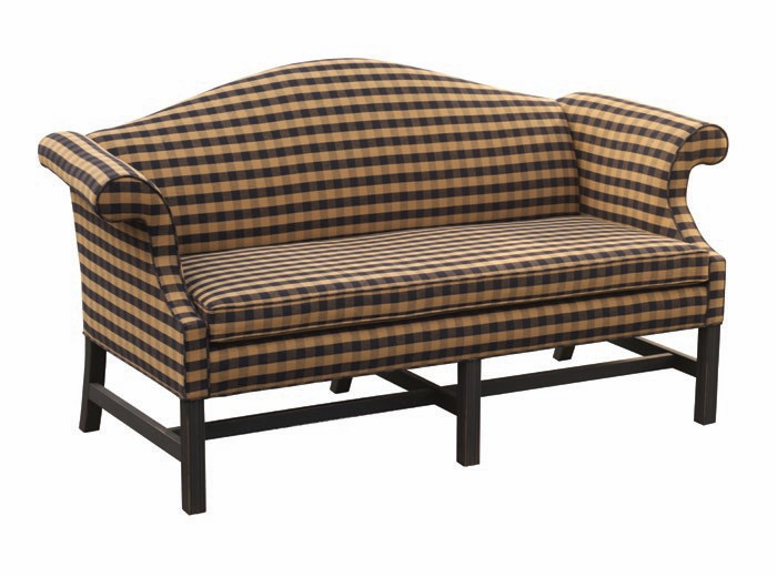 Formal Camelback Sofa 72