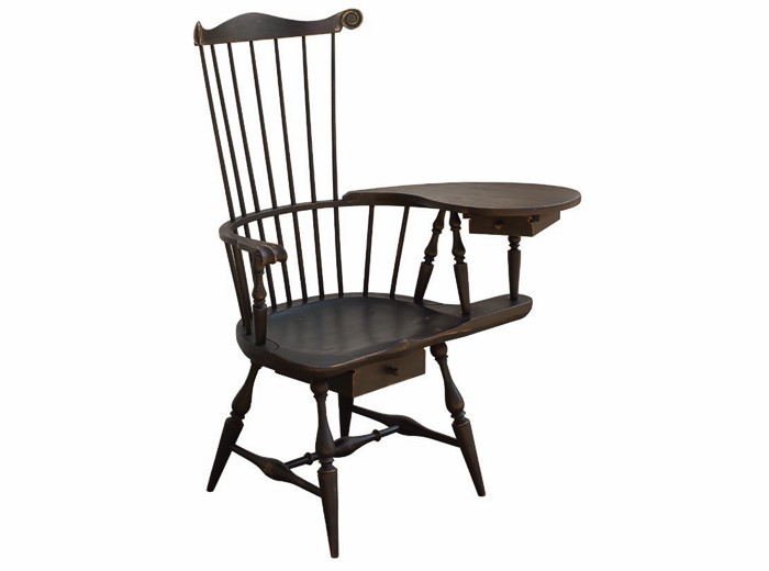 Writing Arm Chair  sc 1 st  Primitive Classics & Windsor Chairs Custom Wood Furniture Country Primitives